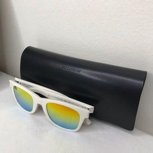 Saint Laurent Unisex Rainbow White Sunglasses